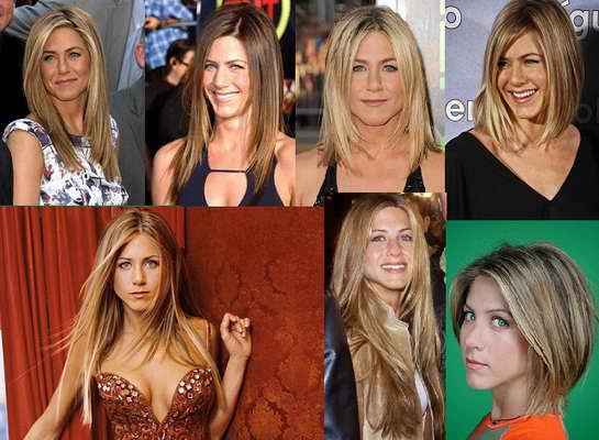 Jennifer Aniston pelo liso - Blow Dry Bar peluqueria madrid