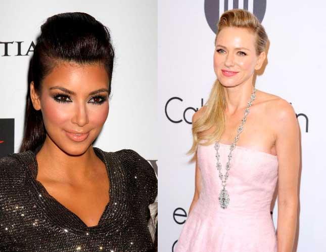 Kim Kardashian naomi watts pelo liso - Blow Dry Bar peluqueria madrid