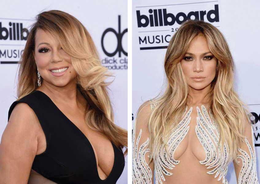 Mariah Carey Jlo Billboard 2015 - Blow Dry Bar Peluquería Madrid