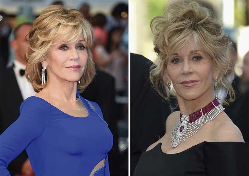 Jane Fonda Cannes 2015 - BlowDryBar Peluqueria Madrid