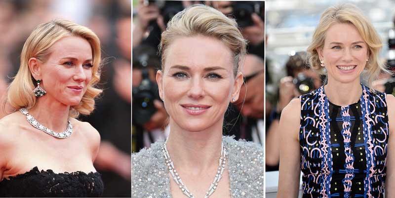 Naomi Watts Cannes 2015 - BlowDryBar Peluqueria Madrid