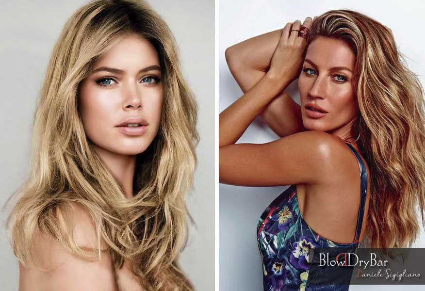 Doutzen Kroes Gisele Bundchen - Blow Dry Bar Peluqueria Madrid