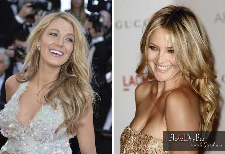 Blake Lively  Kate Hudson - Blow Dry Bar Peluqueria Madrid