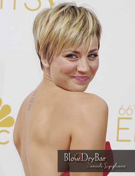 Pixie Kaley Cuoco - Blow Dry Bar Peluqueria Madrid
