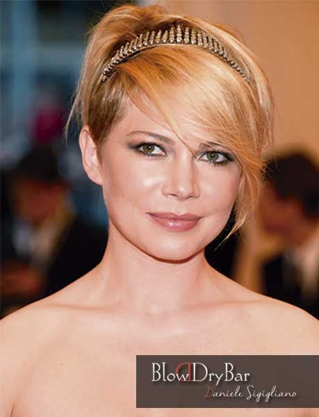 Pixie Michelle Williams - Blow Dry Bar Peluqueria Madrid