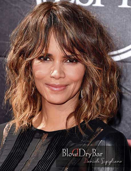 Halle Berry Swang Blow Dry Bar Peluqueria Madrid