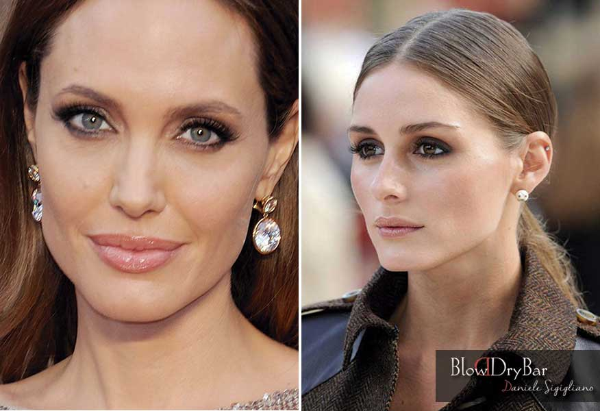 Angelina Jolie y Olivia Palermo Blow Blow Dry Bar Peluqueria Madrid