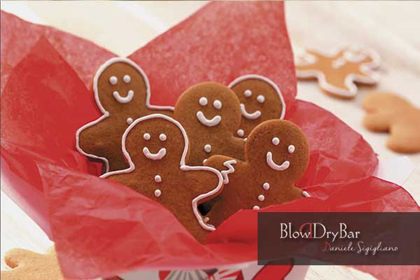 Ginger cookies - Organic hairdressing