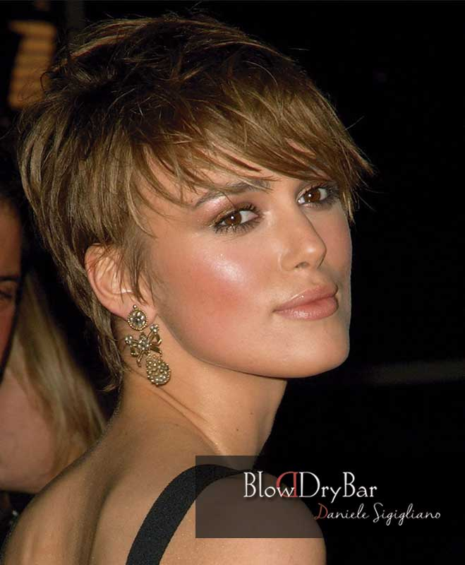 Keira Knightley 12 celebrities de pelo corto