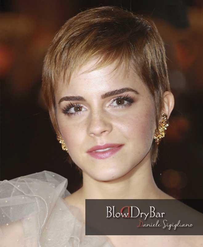 Emma Watson 12 celebrities de pelo corto