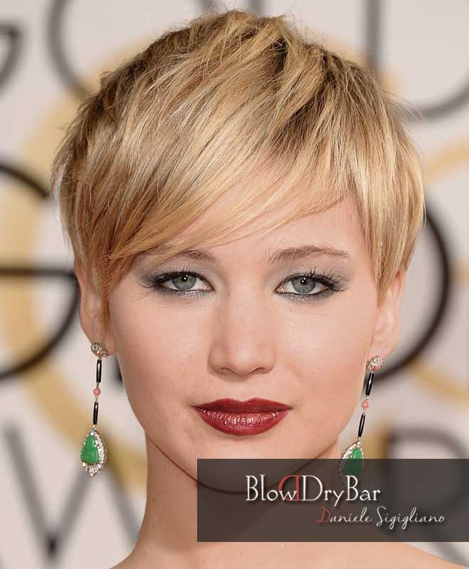 Jennifer Lawrence 12 celebrities de pelo corto