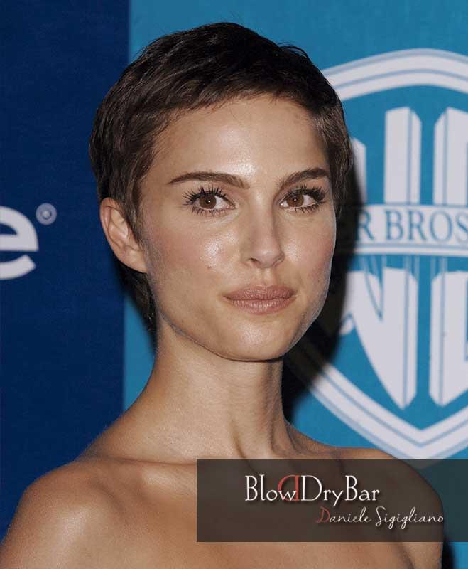 Natalie Portman 12 celebrities de pelo corto